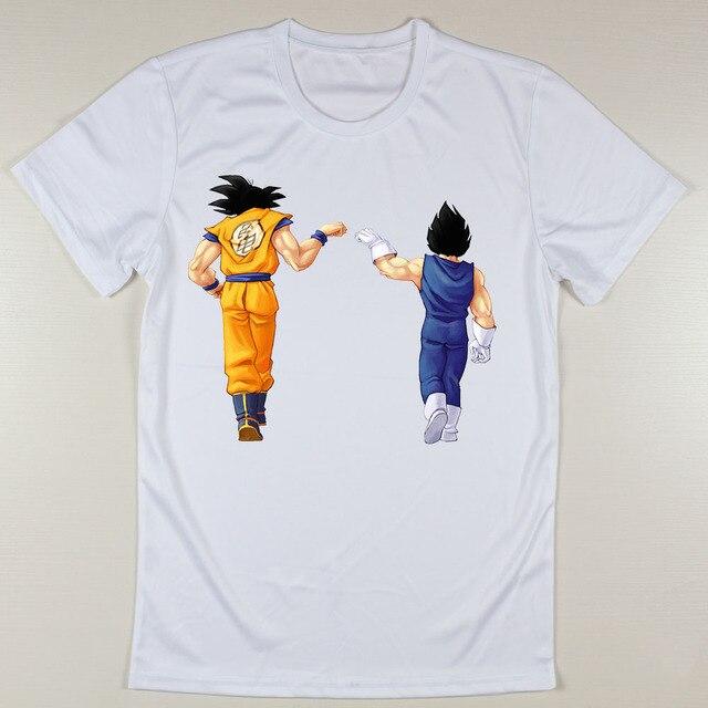 68ecd6a11 Homens baratos verão T camisas Dragon Ball Z Camisetas de Design masculino  Normal em torno do