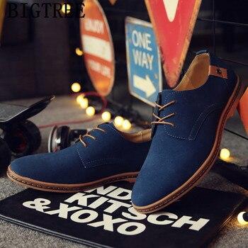 Oxford-Zapatos italianos De ante para Hombre, Zapatos De Vestir De oficina y...