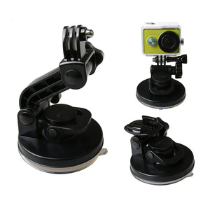 Image 2 - Removable Car Suction Cup 9CM Mount Holder Strong for Gopro Hero 8 7 6 5 4 3+ 3 SJCAM SJ4000 XiaYi Xiaomi Yi 4K Accessories
