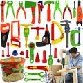 32 unids/set niños educativos de reparación de carpintería herramientas de juguete pretend play play house toys bebé early learning toys wholesale
