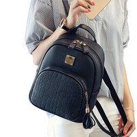 New Fashion Women Backpacks Women S PU Leather Backpacks Small Girl School Bag High Quality Ladies