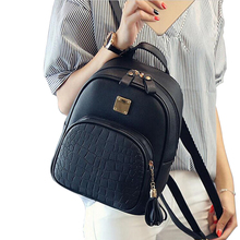COOL WALKER New Fashion Women Backpacks Women's PU Leather Backpacks Girl School Bag High Quality Ladies Bags Designer Bolsas