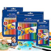STAEDTLER 12/24/36 color water soluble color pencil painting color pen