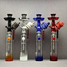 Hookah Shisha Champagne/Wine Bottle Top Stem Kit HOOKITUP Aluminum Complete Set With Bowl And Hose