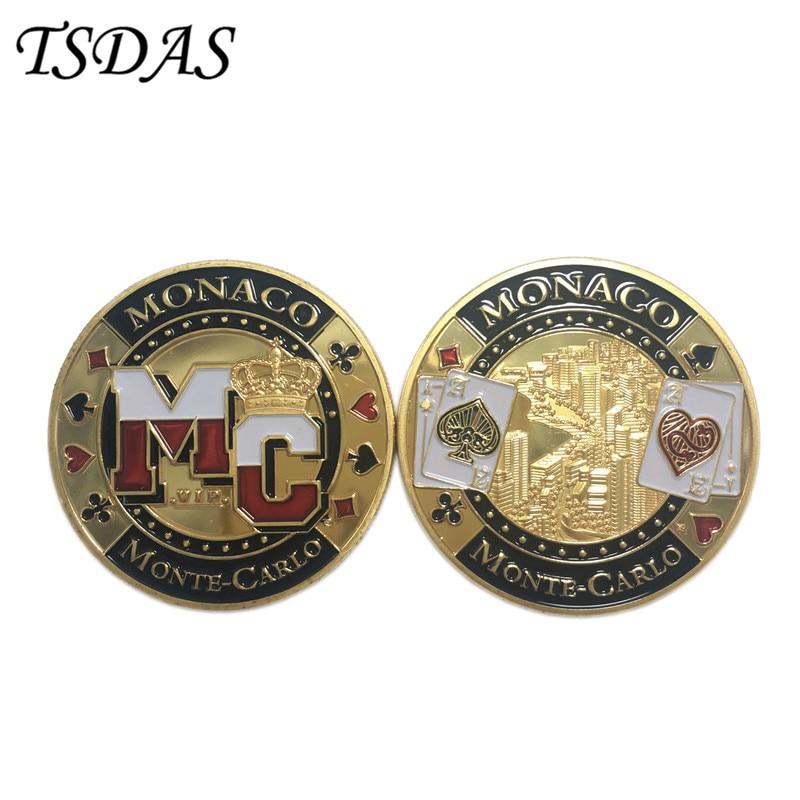 Vânzare cu ridicata cu monedă de aur de 24 k cu stil MONACO (MC), - Decoratiune interioara - Fotografie 2