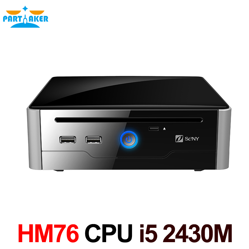Free Shipping Mini PC i5 processor with Sandy Bridge Intel Core i5 Mobile i5-2430M 8G RAM 128G SSD DVI HDMI COM USB 3.0 getworth s6 office desktop computer free keyboard and mouse intel i5 8500 180g ssd 8g ram 230w psu b360 motherboard win10