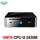 Free Shipping Mini PC i5 processor with Sandy Bridge Intel Core i5 Mobile i5-2430M 8G RAM 128G SSD DVI HDMI COM USB 3.0