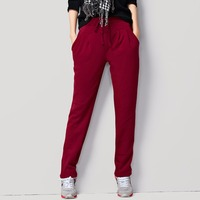 Breeches Women Large Size Loose Harem Pants Harem Autumn Korean Version Plus Velvet Thick Feet Leisure