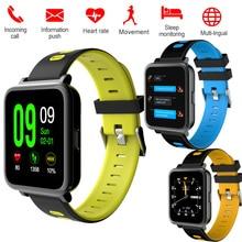 Купить с кэшбэком Bluetooth Smart Watch Bracelet D10 Heart Rate Pdeometer Call SMS Camera Sleep Sport Monitor Phone Andorid IOS Smartwatch band 3