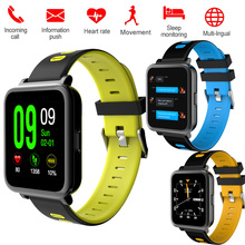 Bluetooth Smart Watch D10 Heart Rate Watch Pdeometer Call SMS Camera Sleep Sport Monitor Phone Touch Andorid IOS Smartwatch band