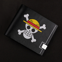 new style hasp wallet skull men purse men's wallets holder for cards popular one piece naruto gintama dragon ball kids wallets