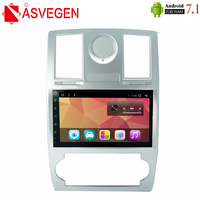 Asvegen 9'' Android 7.1 Quad Core 2G+32GB Car Radio For Chrysler 300C 2000 2014 DVD Player GPS 3G 4G WIFI BT SWC Navigation
