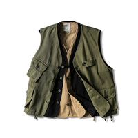 fashion tactical vest men army green jacket military style casual high quality coat summer harajuku vests male with many pockets