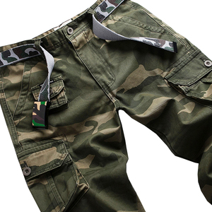 Image 5 - Vomint New Men Fashion Military Cargo Army Pants Slim Regualr Straight Fit Cotton Multi Color Camouflage Green Yellow V7A1P015