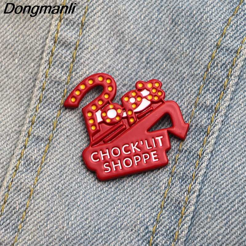 P2476 Dongmanli Riverdale Pins Enamel Brooches for Women Lapel pin Cartoon Metal Badge Collar Jewelry Gifts 1pcs