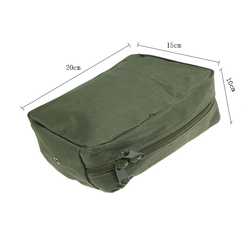 Waterproof Nylon Tactical Molle System Waist Bag Medical Military First Aid Nylon Sling Pouch Durable 2017 LZH7