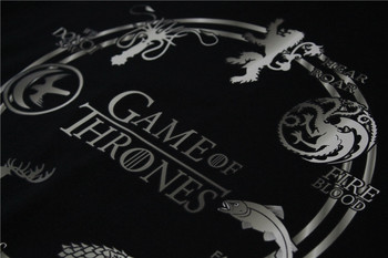 Game of Thrones Men Pullover Hoodies Deer Wolf Dragon Lion Printed Animal Casual Fleeces Cool Sweatshirts Chic Clothing