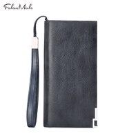 Fashion New Purse Men Wallets Long Men Purse Wallet Male Clutch Genuine Leather Wallet Men Business