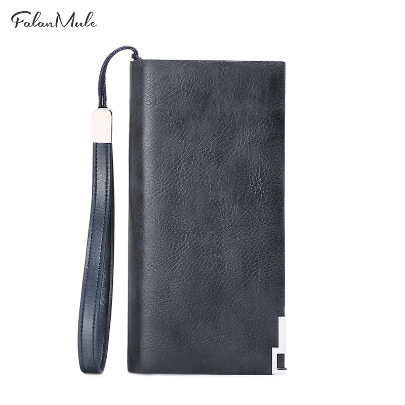 Fashion New  Purse  Men Wallets Long Men Purse Wallet Male Clutch Genuine Leather Wallet Men Business Male Wallet Coin Purse genuine leather men business wallets coin purse phone clutch long organizer male wallet multifunction large capacity money bag