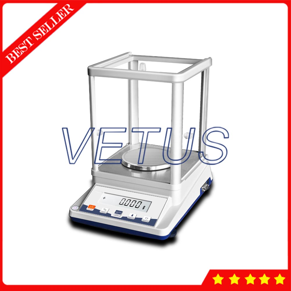 цена на JA303P LCD Digital Display Electronic Laboratory Weighing Scales With 0.001g High Precision Load Cell Sensor
