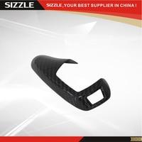 Carbon Fiber Gear Knob Surround Trim Cover For BMW 1 2 3 4 5 6 7