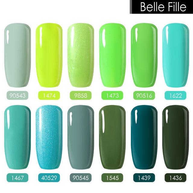 Tienda Online Belle fille 10 ml púrpura Esmaltes de uñas Vernis a ...