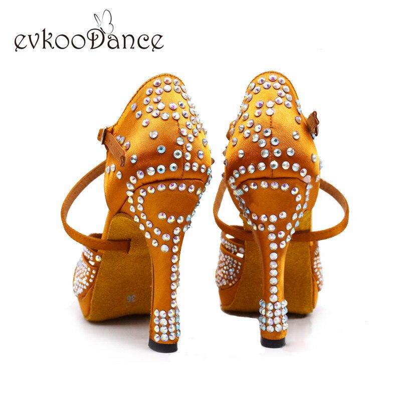 Dance-Latin-Shoes-High-Heels-with-Platform-Bronze-Latin-Dance-Shoes-Full-Rhinestone-12cm-Square-Dance (3)