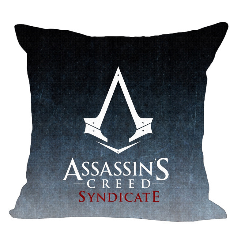 ASSASSINu0027S CREED Assassin Insignia Decorative Throw Pillow Cover Cushion  Moden Printed Game Pillowcase Home Decor Cojines In Cushion Cover From Home  ...