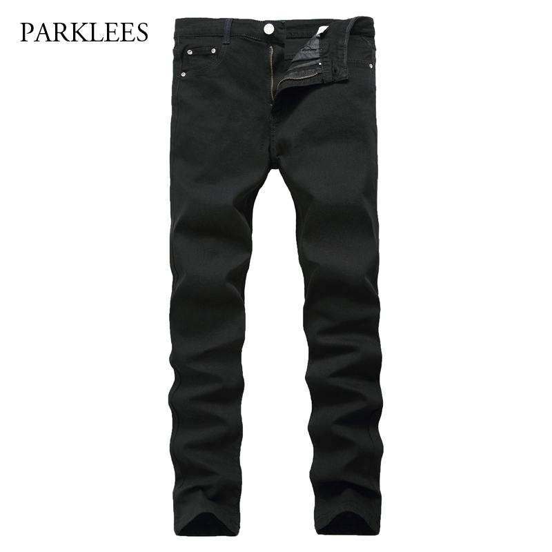 Cool Black Jeans Men Jeans Homme 2017 Autumn Casual Cotton ...
