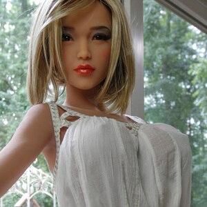 Настоящие силиконовые секс куклы 170 см Скелет робот японский реалистичный Аниме Сексуальная кукла любовь мини влагалище для взрослых полна...