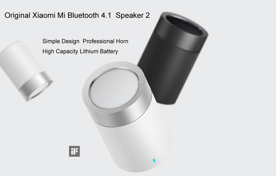 Original xiaomi speaker version 2 cannon TYMPHANY speaker 1200mah battery xiaomi bluetooth speaker 2ND 1