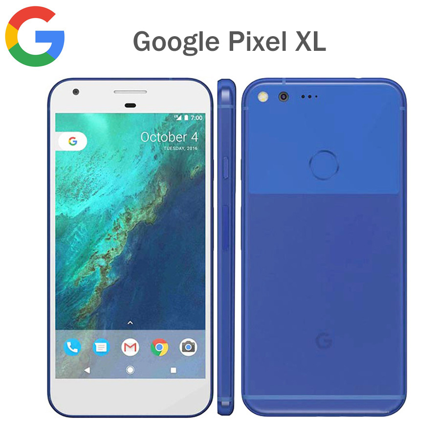 US Version Google Pixel XL 4G LTE Mobile Phone 4GB RAM 128GB ROM 5.51440x2560p Snapdragon 821 Quad Core Fingerprit NFC Android image
