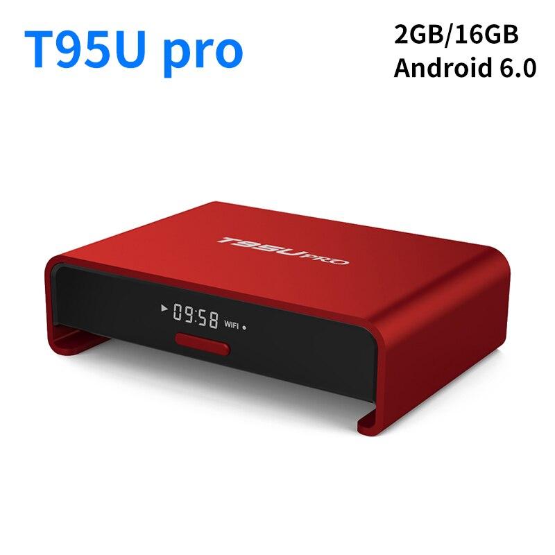 S912 T95U PRO Octa Core 2G/16 GB 3G/32 GB Android TV Box KODI WIFI Ayuda de la C