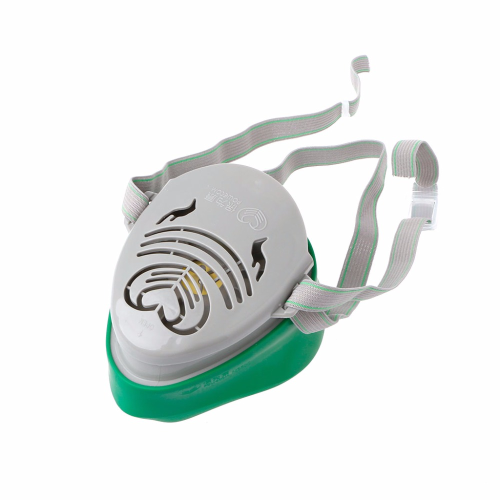 Frank N3800 Anti-dust Facepiece Filter Paint Spraying Cartridge Respirator Gas Mask Fire Protection