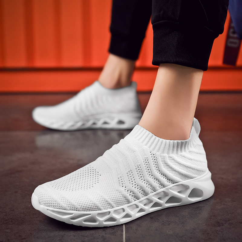 2019 Men Casual Shoes Trainers Comfortable Men Breathable Sports Running Shoes for Adult Outdoor Brands Sneakers Big Size 39-48 zapatillas de moda 2019 hombre