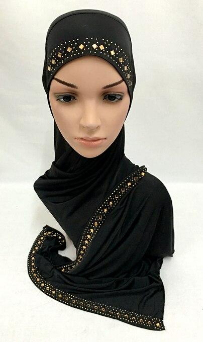 2016 new slip on hijab fashion scarf shawl muslim hijabs can choose colors ML0138