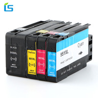 4Pcs Set 950XL 951XL Compatible Ink Cartridge Replacement For HP 950 951 XL For Officejet Pro