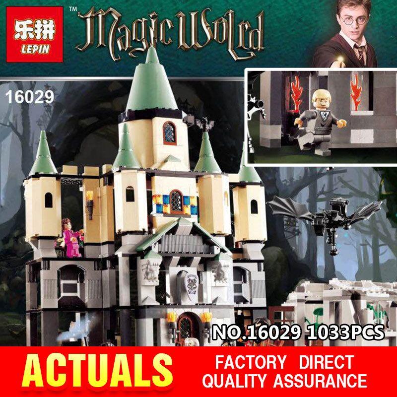ФОТО New Lepin 16029 Movie Series The magic hogwort castle set Children Educational Building Blocks Bricks Toys Model funny Gift 5378