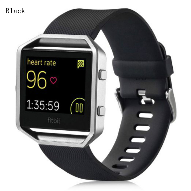 Wristband for Fibit Blaze Band Silicone Strap Bracelet for Fitbit Blaze Strap Watchbands with Tracking Number post registered airmail with a tracking number for delivery safer
