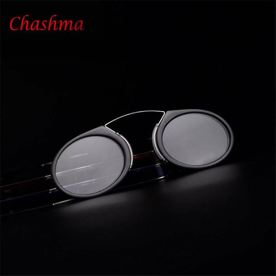 Brýle na čtení v roce 2016 s pouzdrem Velikost kreditní karty Nouzové brýle na čtení nosit v nose kabelku odpočívá