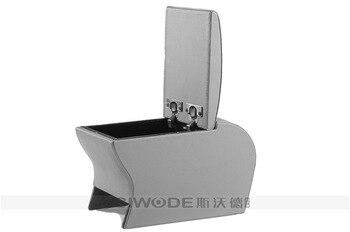 Wolne cios Swardarmrest producenci dostarczają dla BYDF3R centrum podłokietnik box ręcznie pudełko drewniane materiał ze skóry