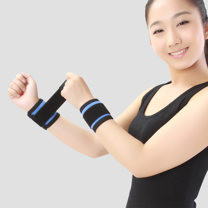 Fitness Self-heating Tourmaline Wrist Brace Bandage Wrist Straps Sport Wrist Support & Protector Gym Wrap Relieve Arthritis Pain