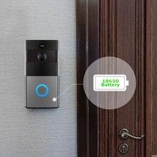 สมาร์ท WiFi Wireless Doorbell กล้อง Visual Intercom Doorbell โทรศัพท์วิดีโอระยะไกลการรักษาความปลอดภัยหน้าแรกการตรวจสอบ Night Vision
