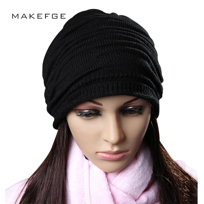 2018 New Stack Cap Winter Skullies Beanies Man Woman High Quality Autumn Warm Cotton Ski Soft Caps Hat Beanie Bone Unisex beanie