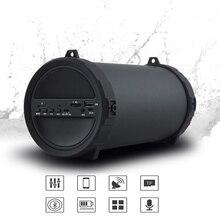 89mm Bluetooth Wireless Speaker Big Power HiFi Portable Speaker Bluetooth For Outdoor  Car music Speakers Radio FM Mp3 player