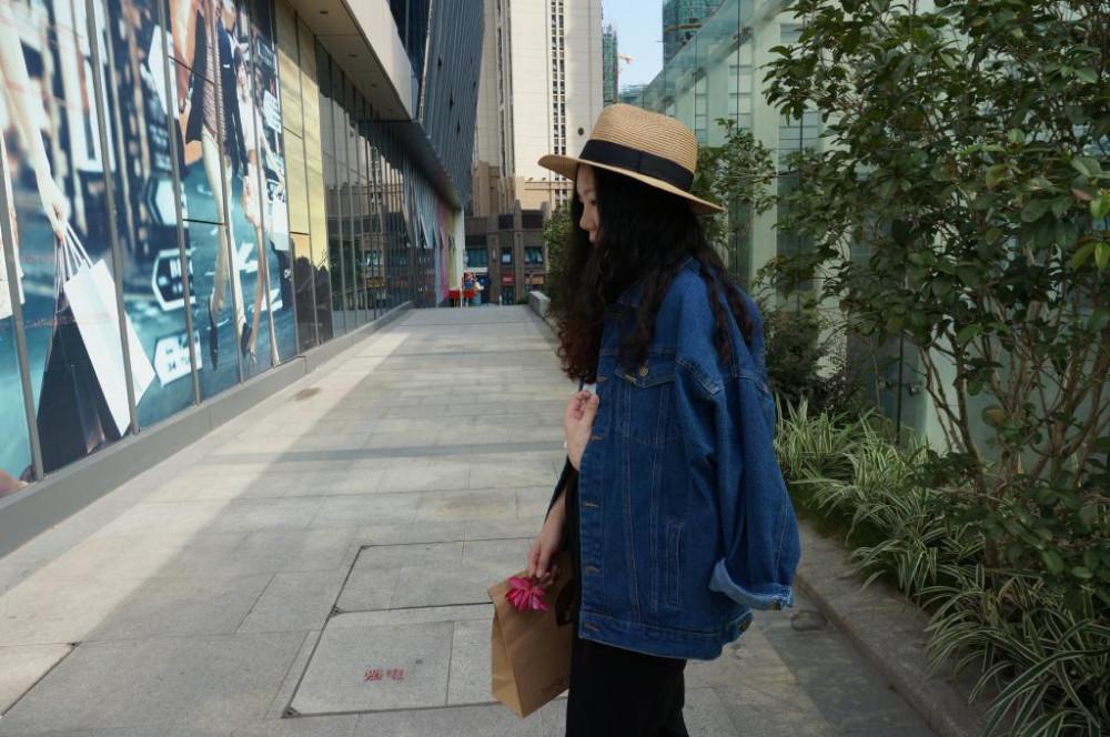 Bf Wiatr Jesienią I Zimą Kobiet Kurtka Dżinsowa 2017 Rocznika Harajuku Oversize Luźne Kobiet Jeans Płaszcz Solidna Slim Chaquetas Mujer 7