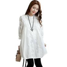 Wholesale peasant blouse white