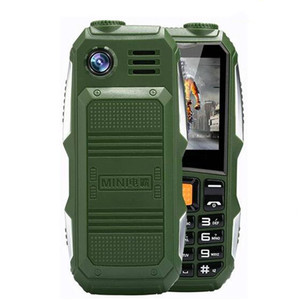 Big Battery 3800mAh Phone Dual Sim GSM Dustproof Shockproof Cell Phone Big Torch Speaker Senior Elder Mobile Phone Russia SOS