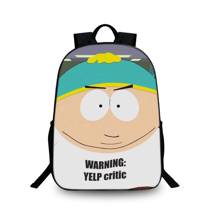 BAOBEIKU South Park 3D Backpacks Creative Cartoon Fashion Women Men Backpacks Travel bags For Children Kids School Shoulder Bags ...