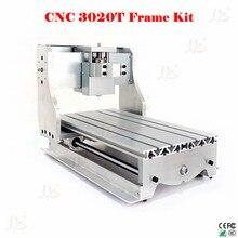 No tax to russia 3020T mini CNC router frame cnc milling machine frame kit cnc lathe